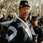An unlikely mentor.  The former grave digger, played by Morgan Freeman.  Photo from https://www.google.com/url?sa=i&rct=j&q=&esrc=s&source=images&cd=&cad=rja&uact=8&docid=2qJjivtTI5Ng6M&tbnid=TYmQq9JBMAQ-ZM:&ved=0CAYQjB0&url=http%3A%2F%2Fhistoryrevived.blogspot.com%2F2013%2F08%2Fglory-behind-story.html&ei=WdUTVIr0BZffoATotIHwBg&bvm=bv.75097201,d.cGU&psig=AFQjCNG55pUUzS7AubOejh_CrlXrMSTa7g&ust=1410670853389397