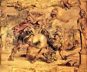 achilles hector by rubens