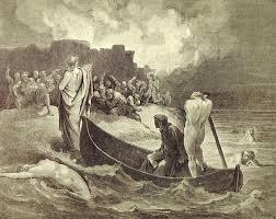 Dante reaches the shore near Dis...