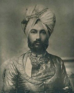 The Raja of Faridkot.  A Nineteenth Century photograph.  Photo public domain.
