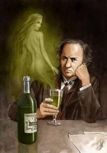 Baudelaire et la fee verte