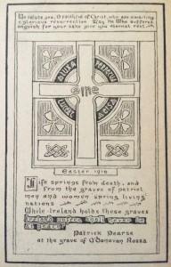 Irish Easter Rising 1916.   Patrick Pearse Oration at grave o Donovan Rossa