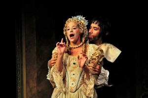 """Tartuffe and Elmire""  during a 2011 production directed by Jim O'Connor."