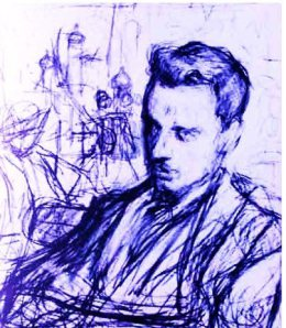 Rainer M. Rilke.  Photo shamelessly pinched from the web.