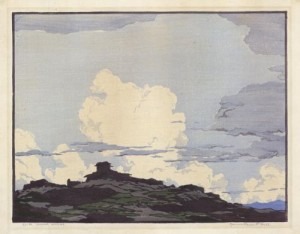 Laguna Skyline.Norma Bassett Hall.1931